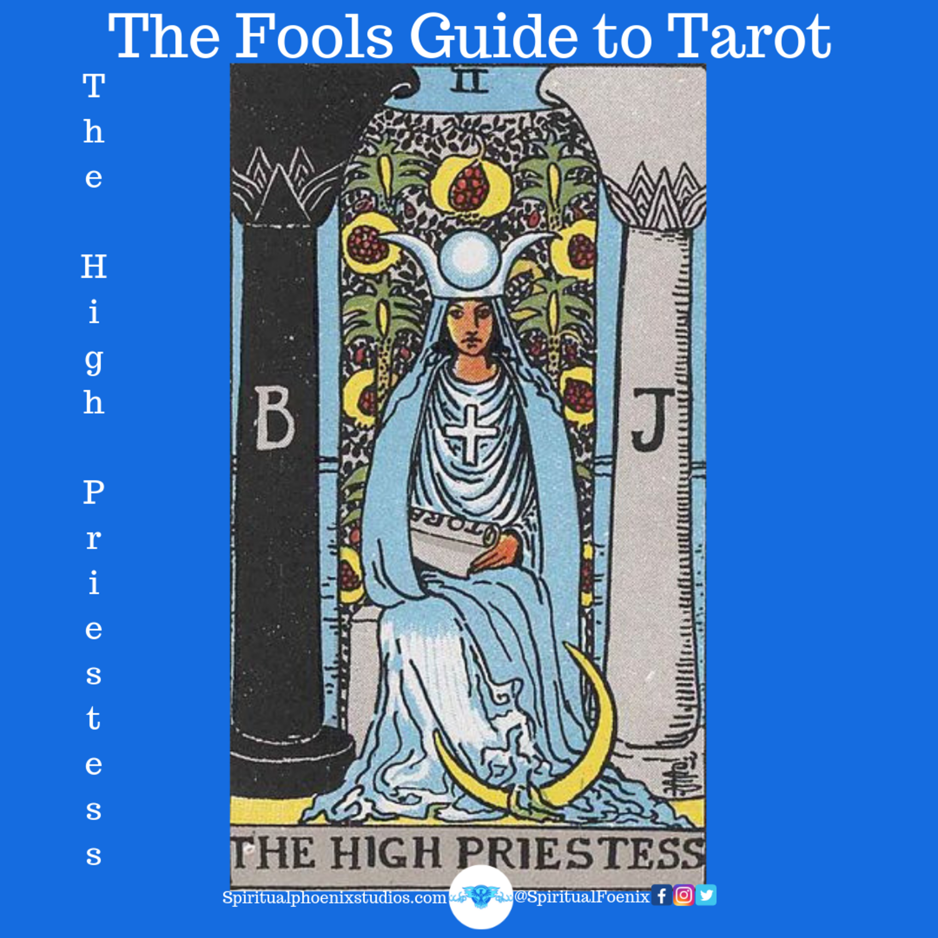 The fool's guide to tarot | How to read tarot cards | The High Priestess and 2s