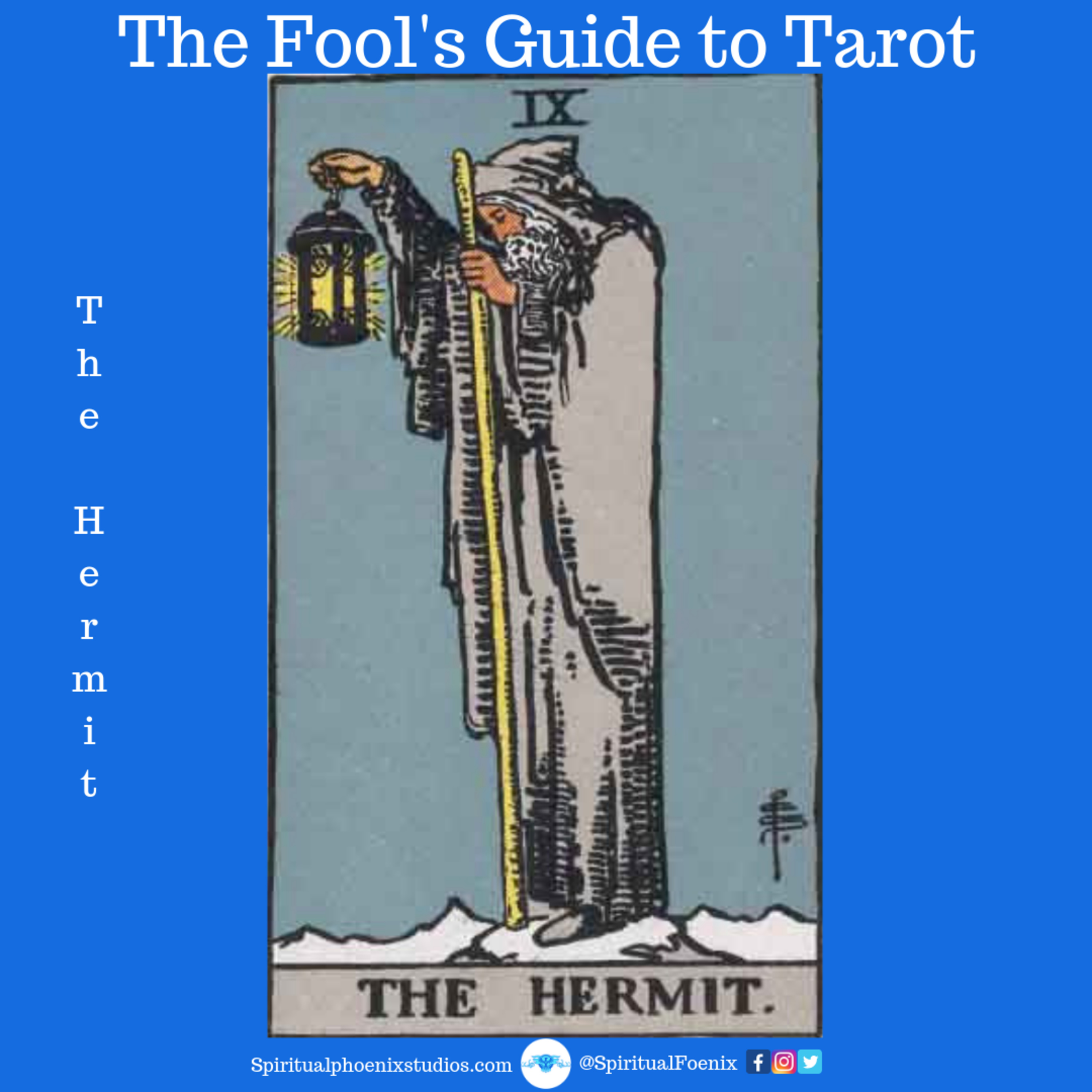 The Fools Guide to Tarot | How to read Tarot | The Hermit and the 9s