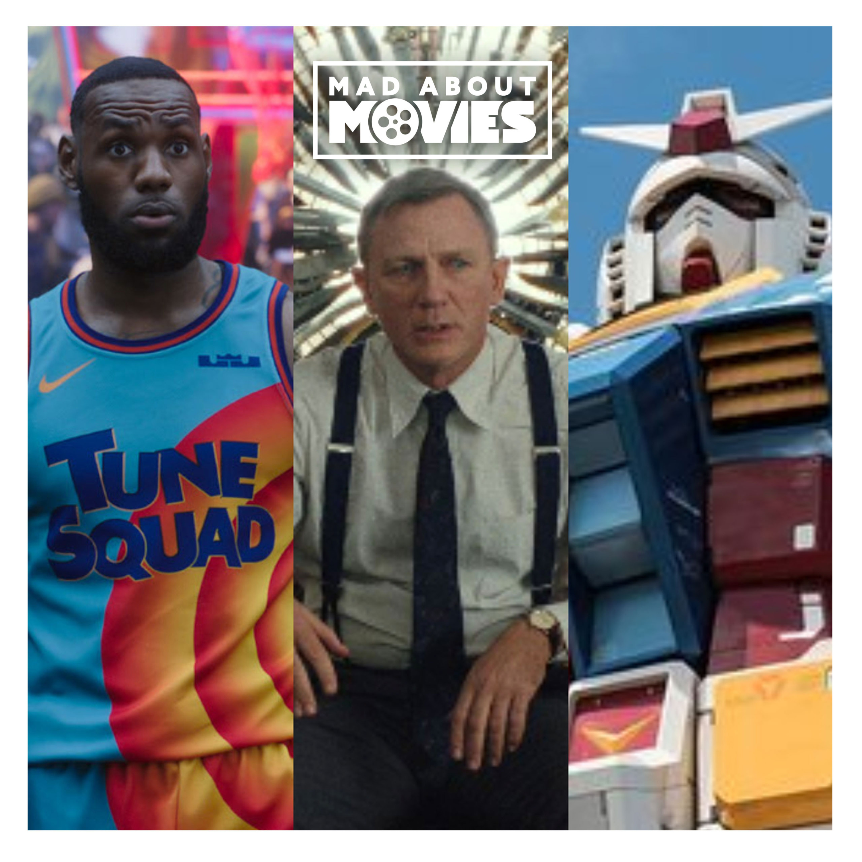 Movie News Roundup: Space Jam 2, Knives Out sequels, Gundam live-action & more