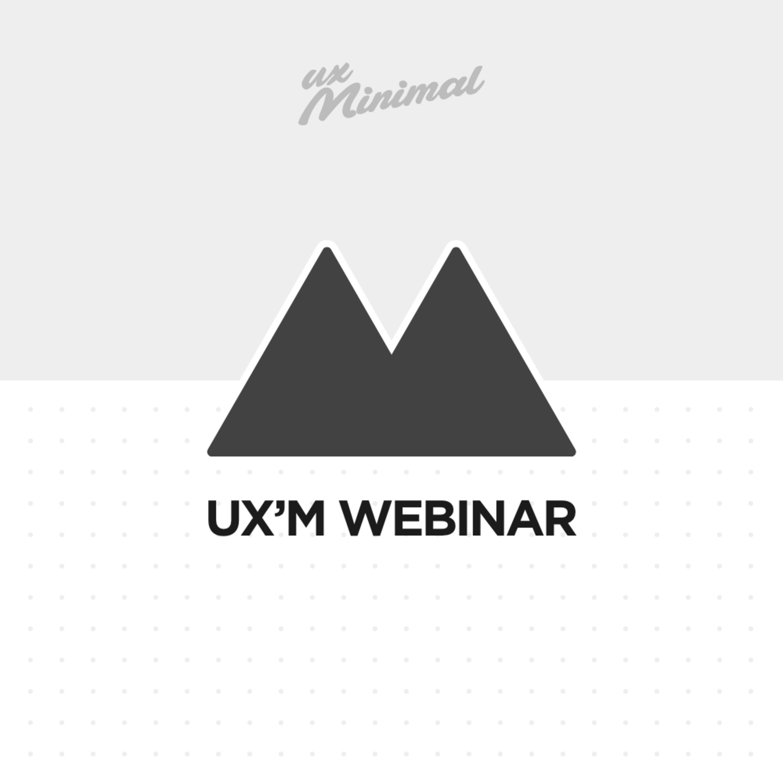 "UX'm Webinar: Makinelerle Konuşmak ""UX Writing 101"""