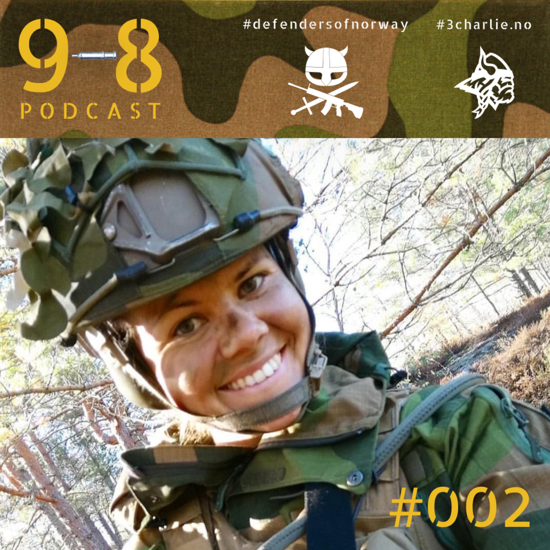 #002 - Jennie-Lovise | Forsvarsmedaljen | Polar Bear VI | Sanitet | Jenter i Forsvaret | FYFO | Ikke overtenk! | Avkobling