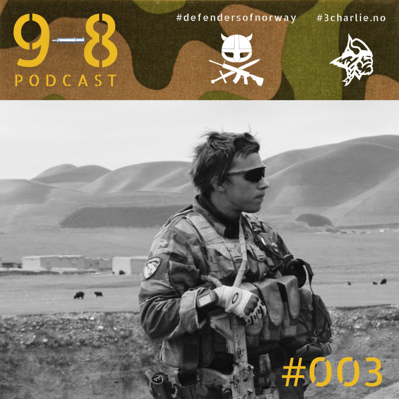 #003 - Håvard | Innsatsmedaljen med rosett | 6x Afghanistan | Ilddåp | Vikersund