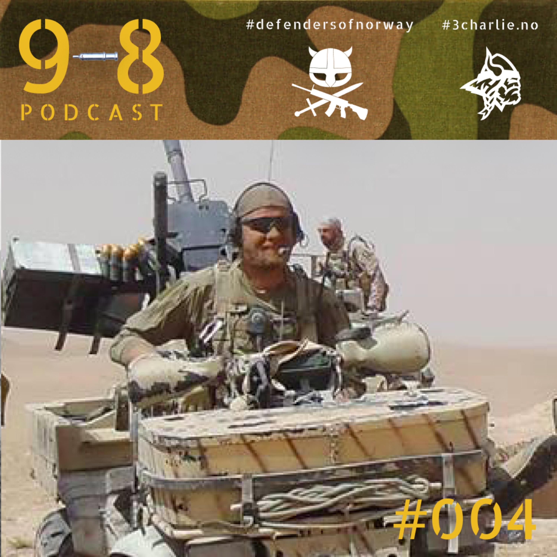 #004 - Halvor | Krigsmedaljen | Afghanistan | Løpe mot trusselen | Lederskap i strid | Arbeidsmoral