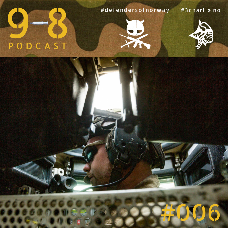 #006 - Dragon Even | Kesken | TMBN |Irak | Afghanistan | Leopard | Mentorering | Sauna