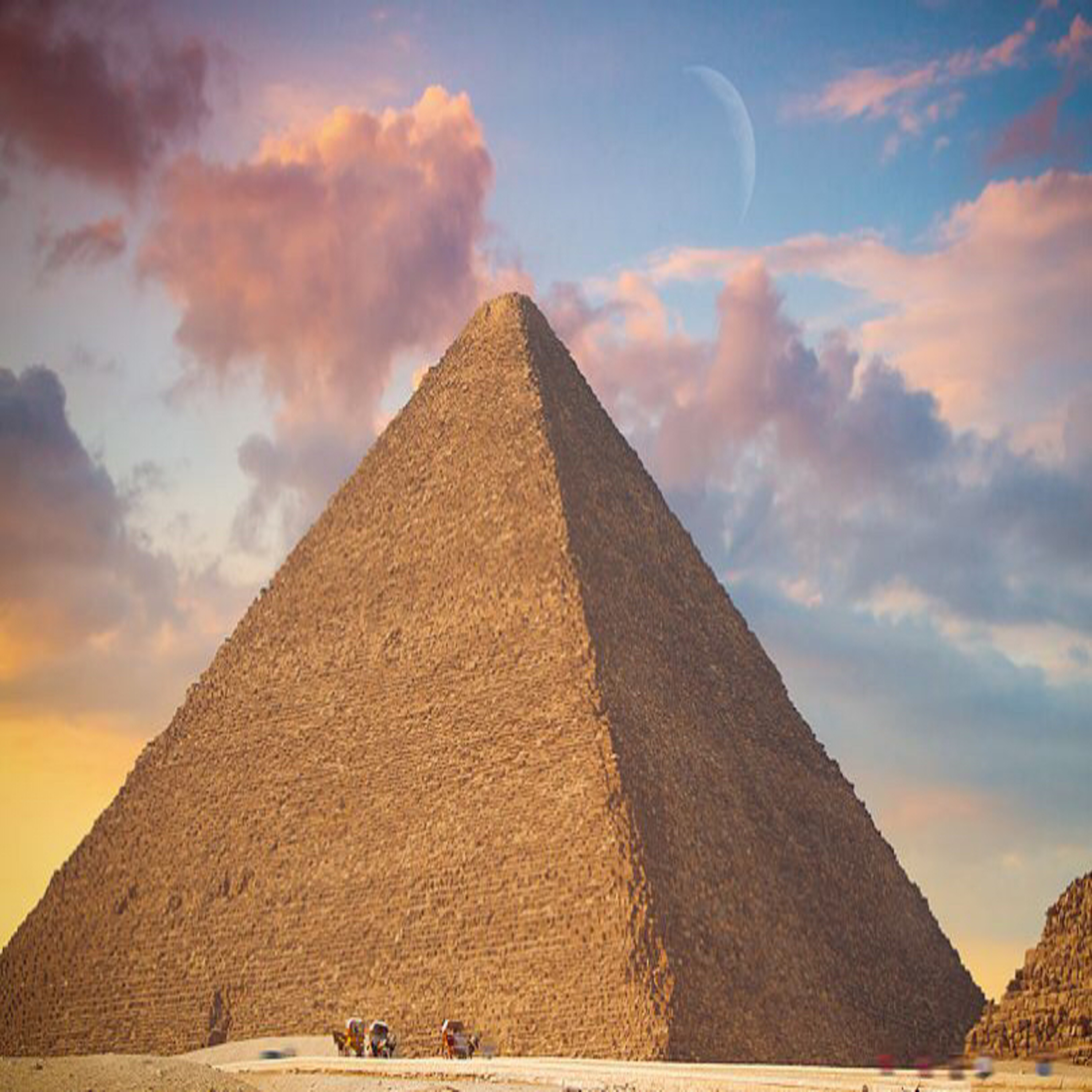 Podcast about pyramids