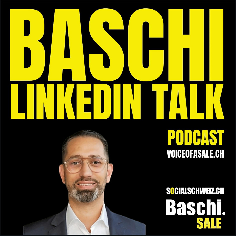 LinkedIn ist heute deine digitale Visitenkarte. Radio Energy Interview mit Baschi Sale