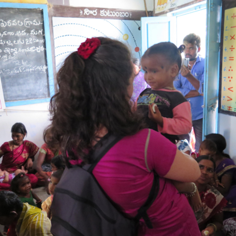 Descubrindo a Fundación Vicente Ferrer en Anantapur, India.