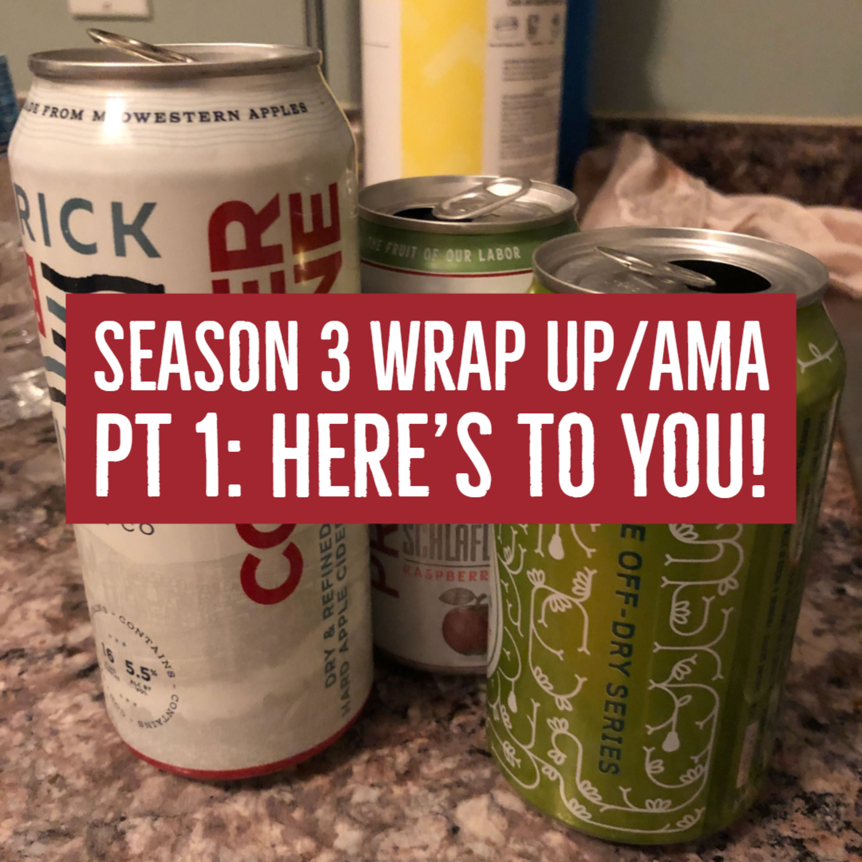 S3 Wrap Up/AMA - Pt1: Let's drink and talk about things