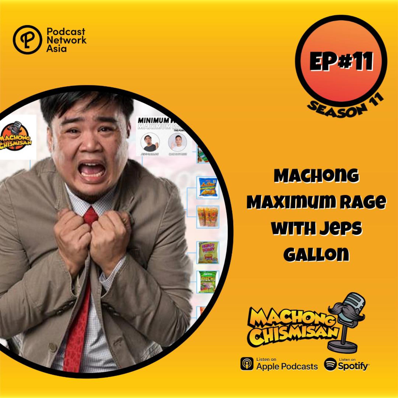 Machong Chismisan – S11E12 – Machong Maximum Rage with Jeps Gallon – Chichirya Playoffs