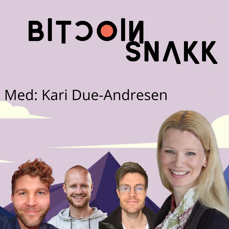 #10 Bitcoinsnakk møter sjefsøkonom i Handelsbanken: Kari Due-Andresen