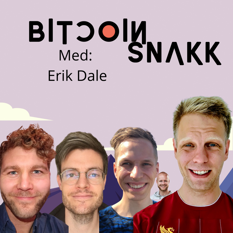 #13 Hva skjer med bitcoinmarkedet? Med Erik Dale.