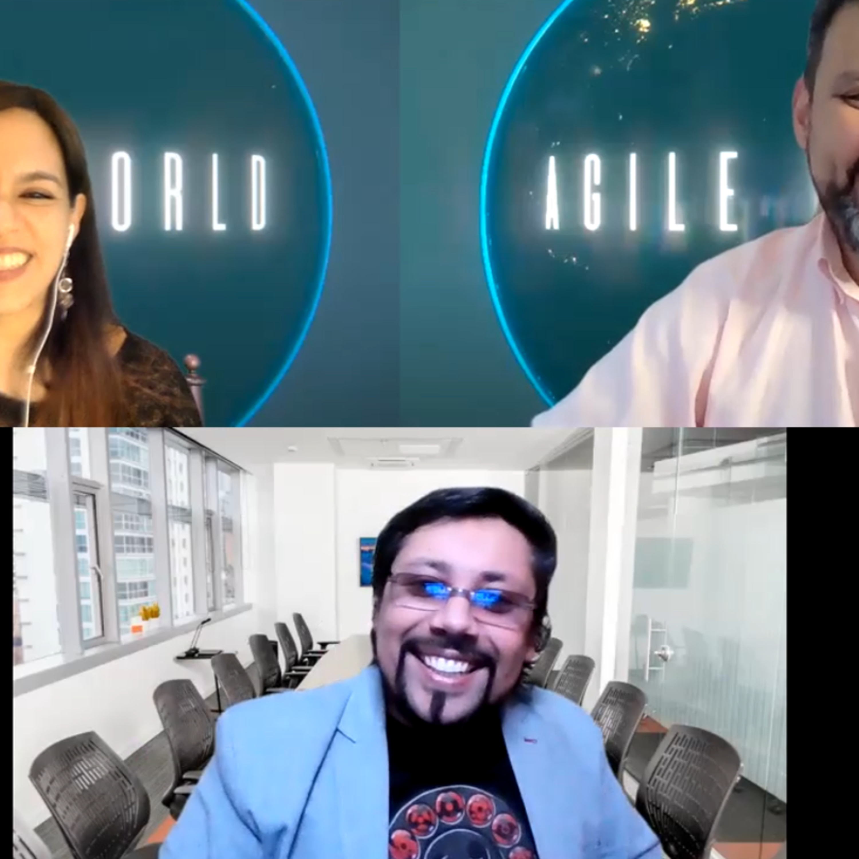 Entrevistando a Alexis Hidalgo, de Chile sobre Agile World en Español Serie 1 Episodio 1