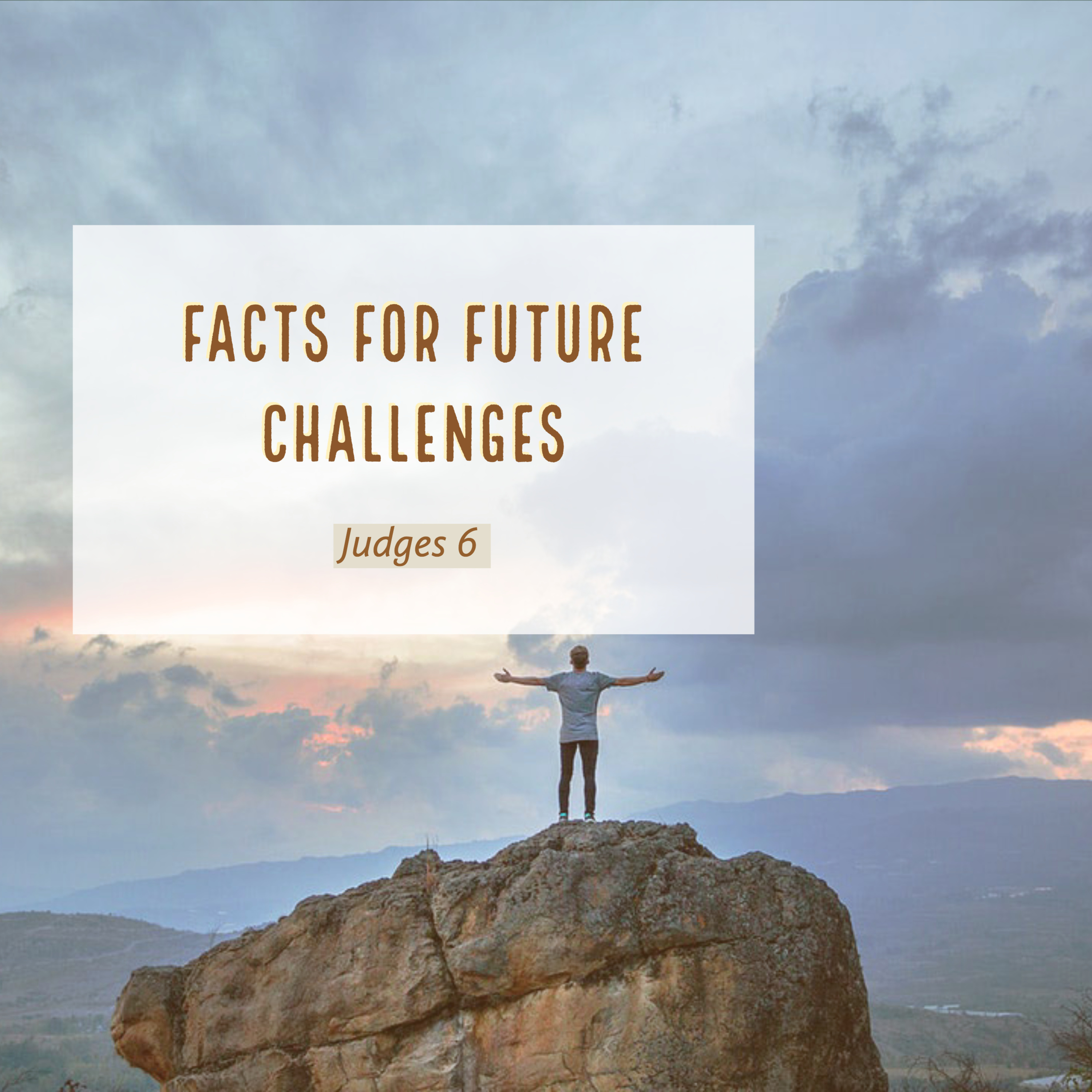 Facts for a future Challenge Judges 6
