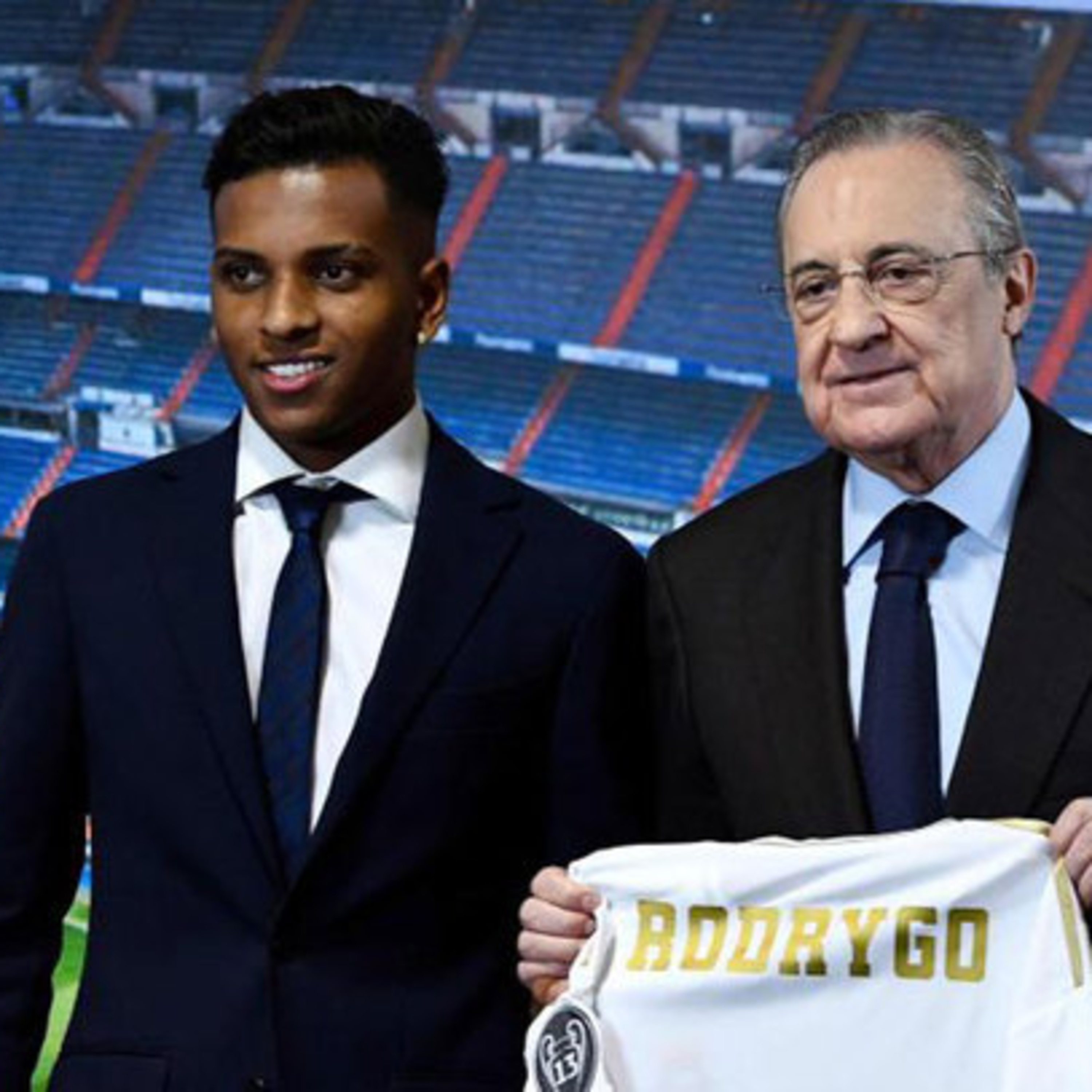 Rodrygo unveiled at Real Madrid