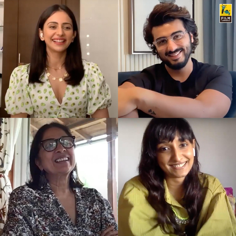 Sardar Ka Grandson Interview | Spill the Tea With Sneha | Netflix | Film Companion