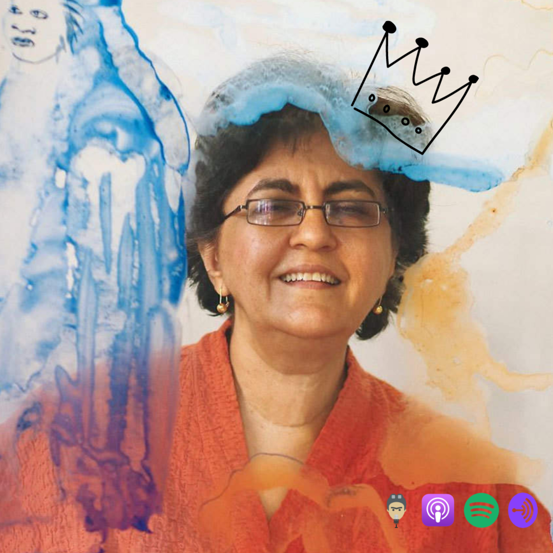 (Romanian) Nalini MALANI - una din primele artiste de performance din India