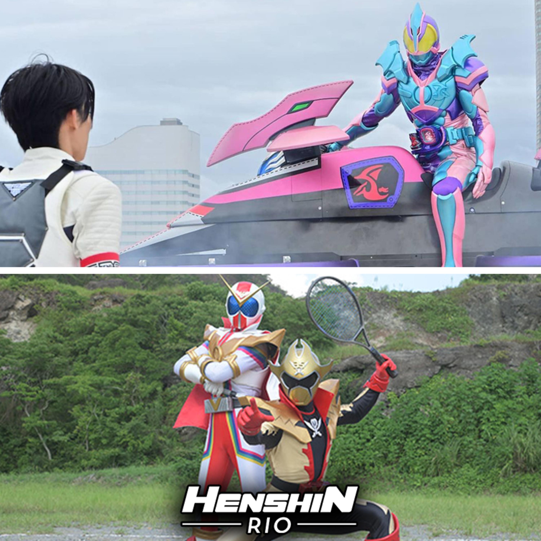 Henshin Rio #198 - Henshin Rio Time (Zenkaiger 29 e Kamen Rider Revice 04)