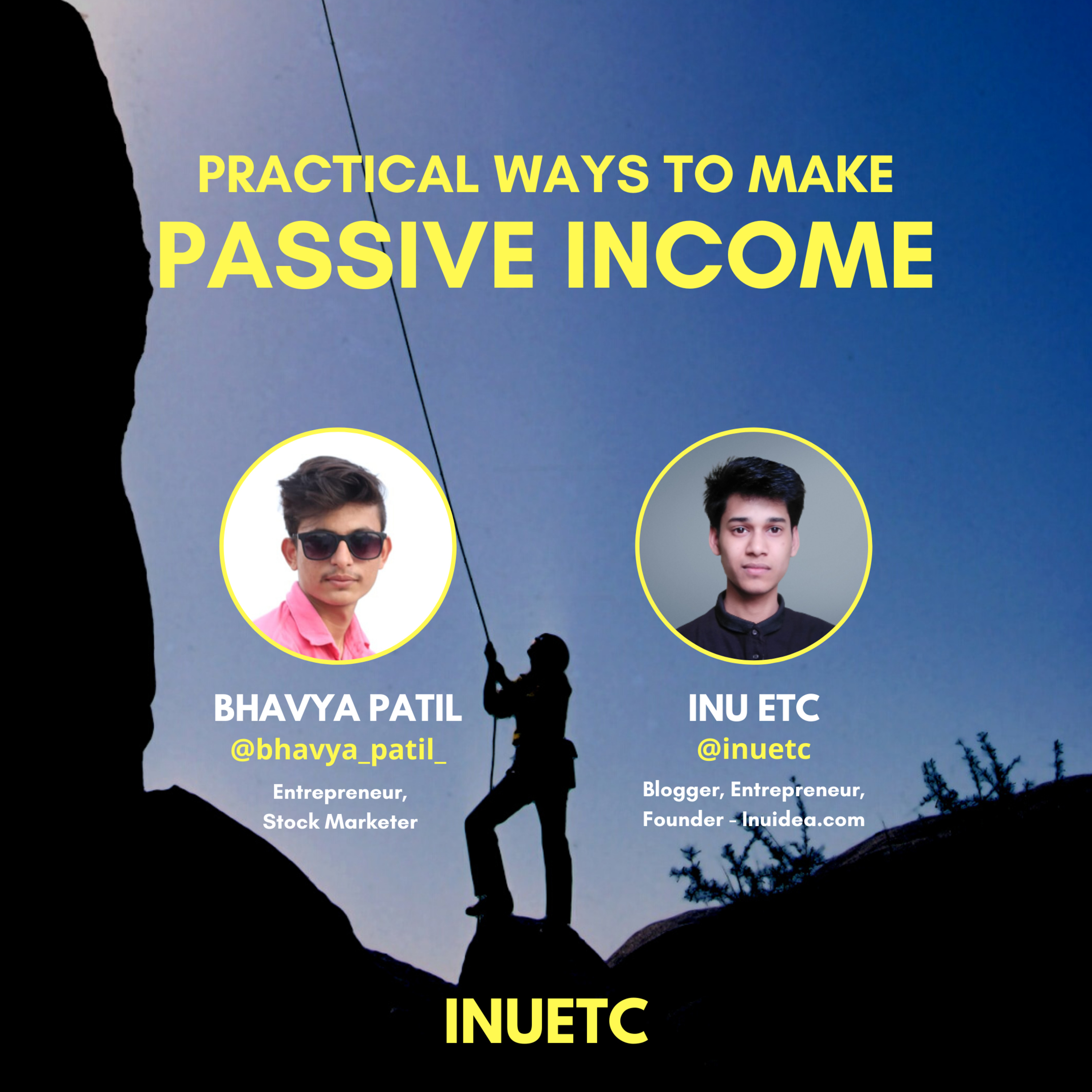 Practical Ways to Make Passive Income - Inu Etc on The Bhavya Patil Show | EP#06