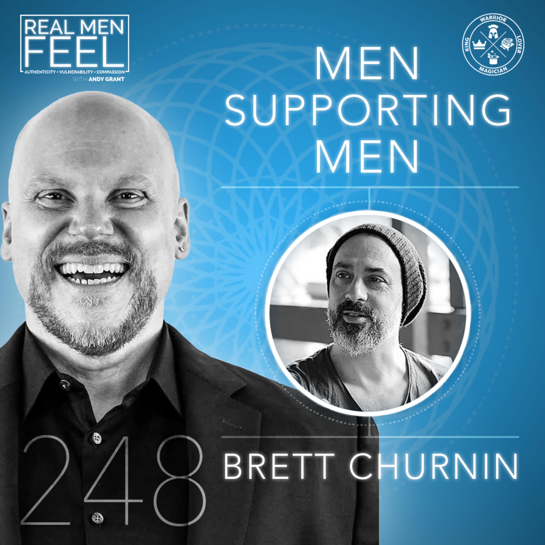 Men Supporting Men