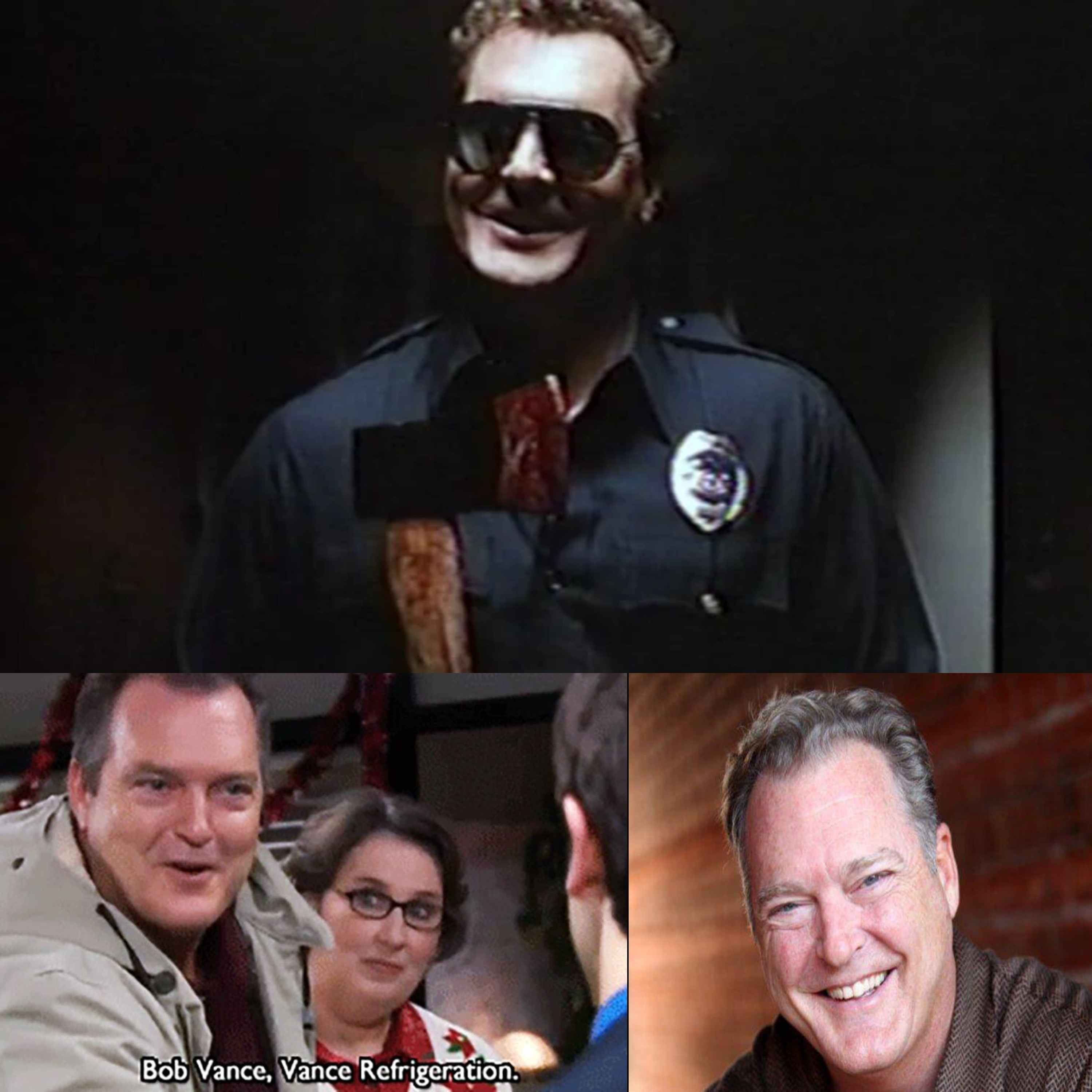 """Actor Robert Shafer ( Bob Vance from """"The Office""""/Psycho Cop 1&2)"""