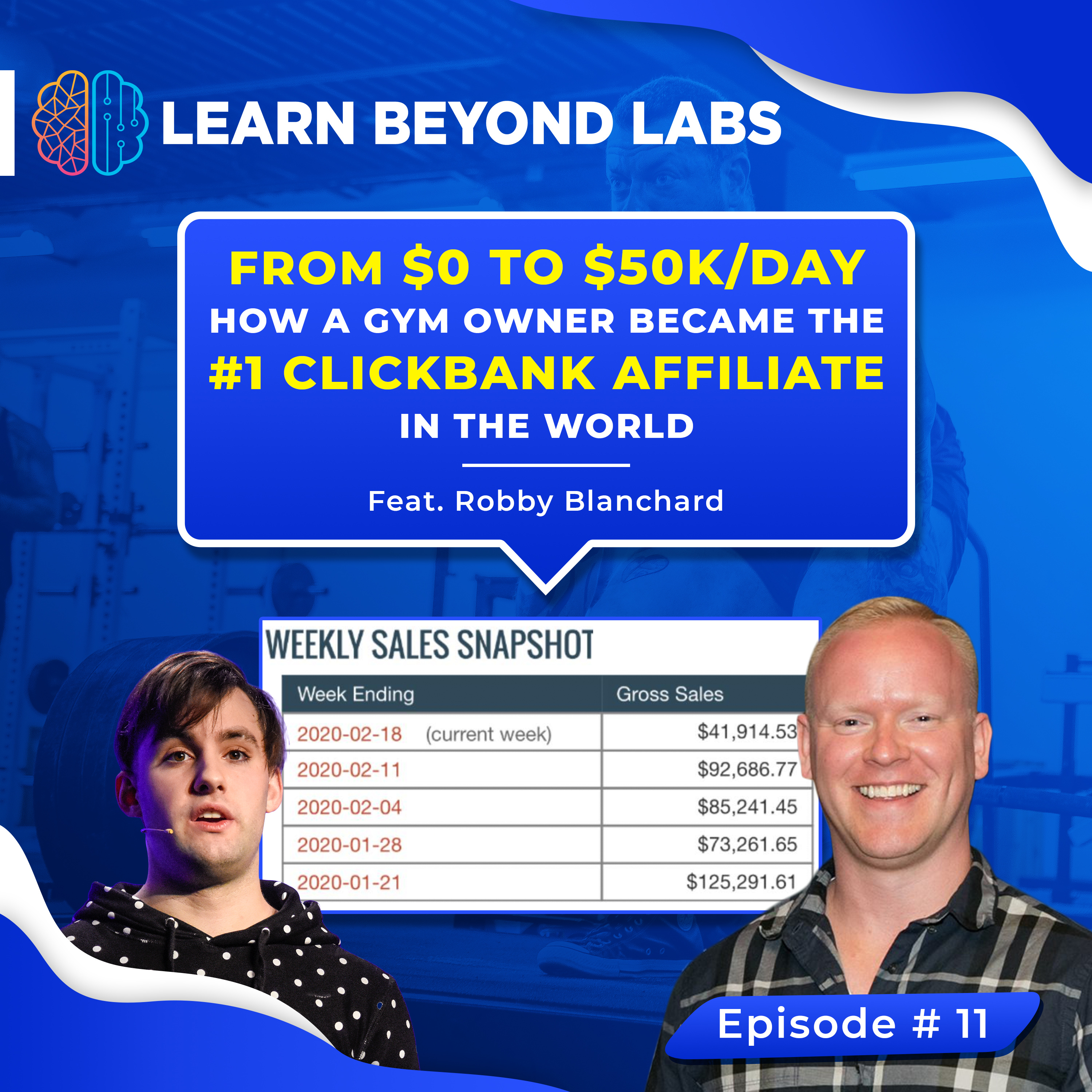 From $0 To $50K/Day: How A Gym Owner Became The #1 ClickBank Affiliate In The World (Feat. Robby Blanchard)