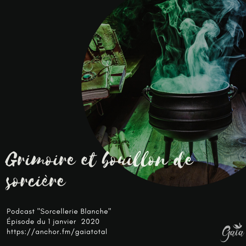 #58 Grimoire et bouillon de sorcière