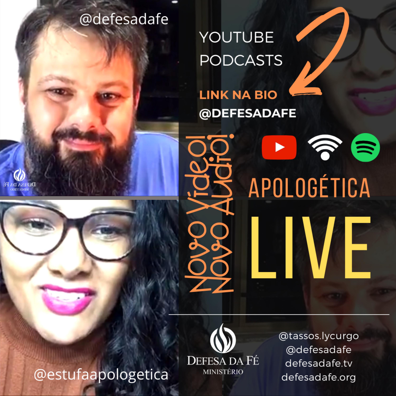 APOLOGÉTICA | LIVE NO INSTAGRAM (TASSOS LYCURGO & CAROLINA BAETA, MG)