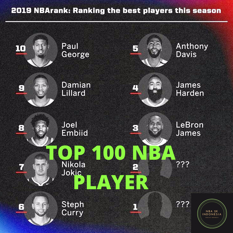 TOP 100 NBA PLAYER , KOK GA ADA KEVIN DURANT | EPS 11 | PODCAST NBA2KINDONESIA