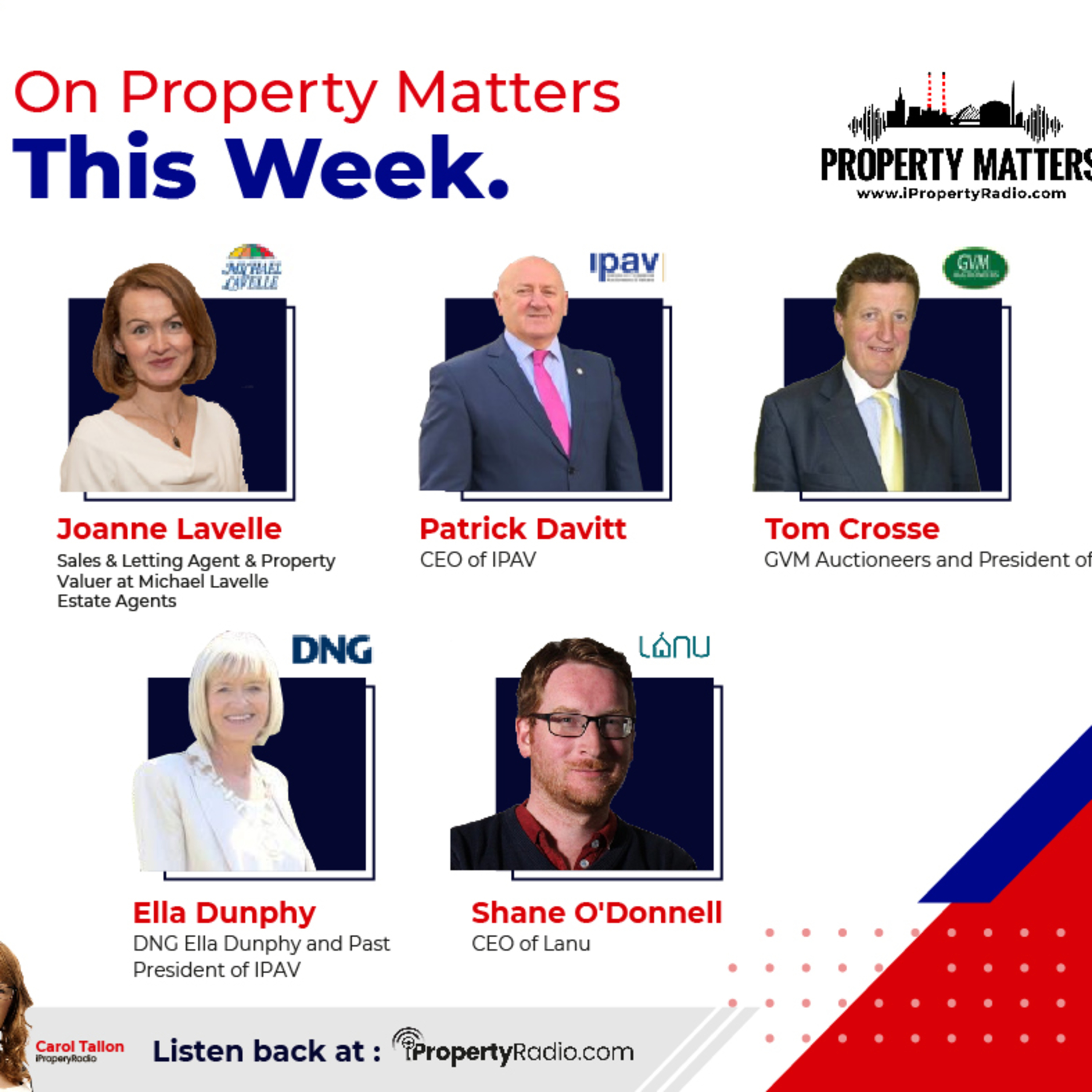 Property Matters, 3rd November 2020 - IPAV Annual Conference (incl. proptech)