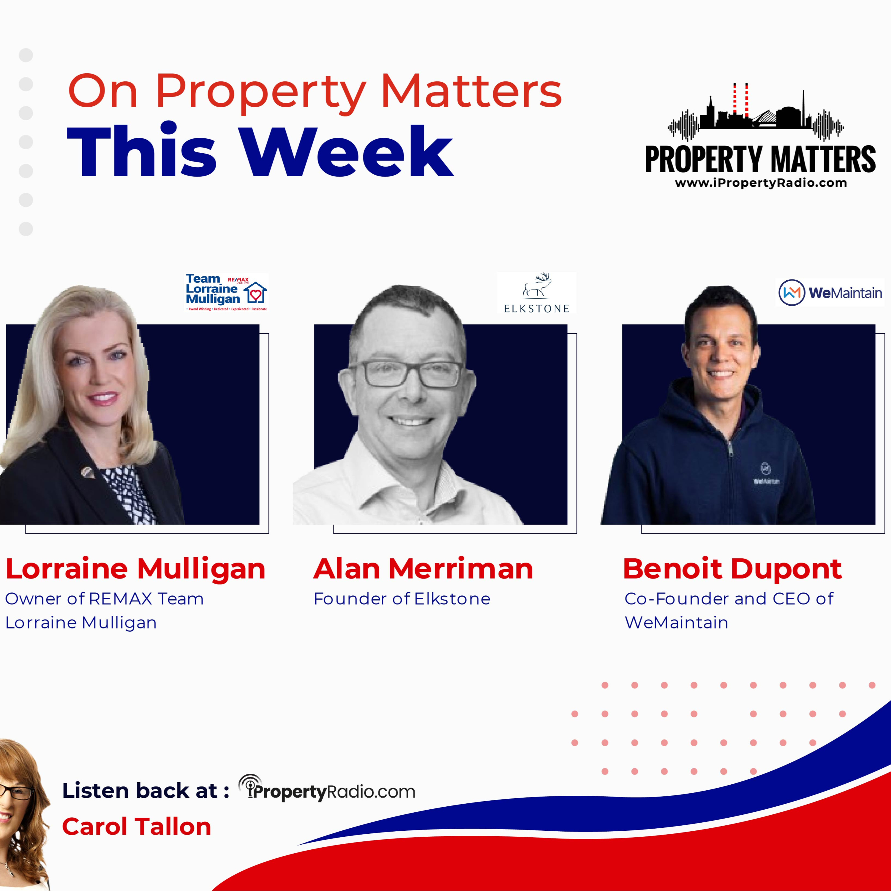 Property Matters: 17th November 2020: Remax, Elkstone & WeMaintain