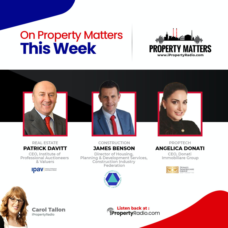 Property Matters 19th January 2021: IPAV, CIF, Angelica Donati