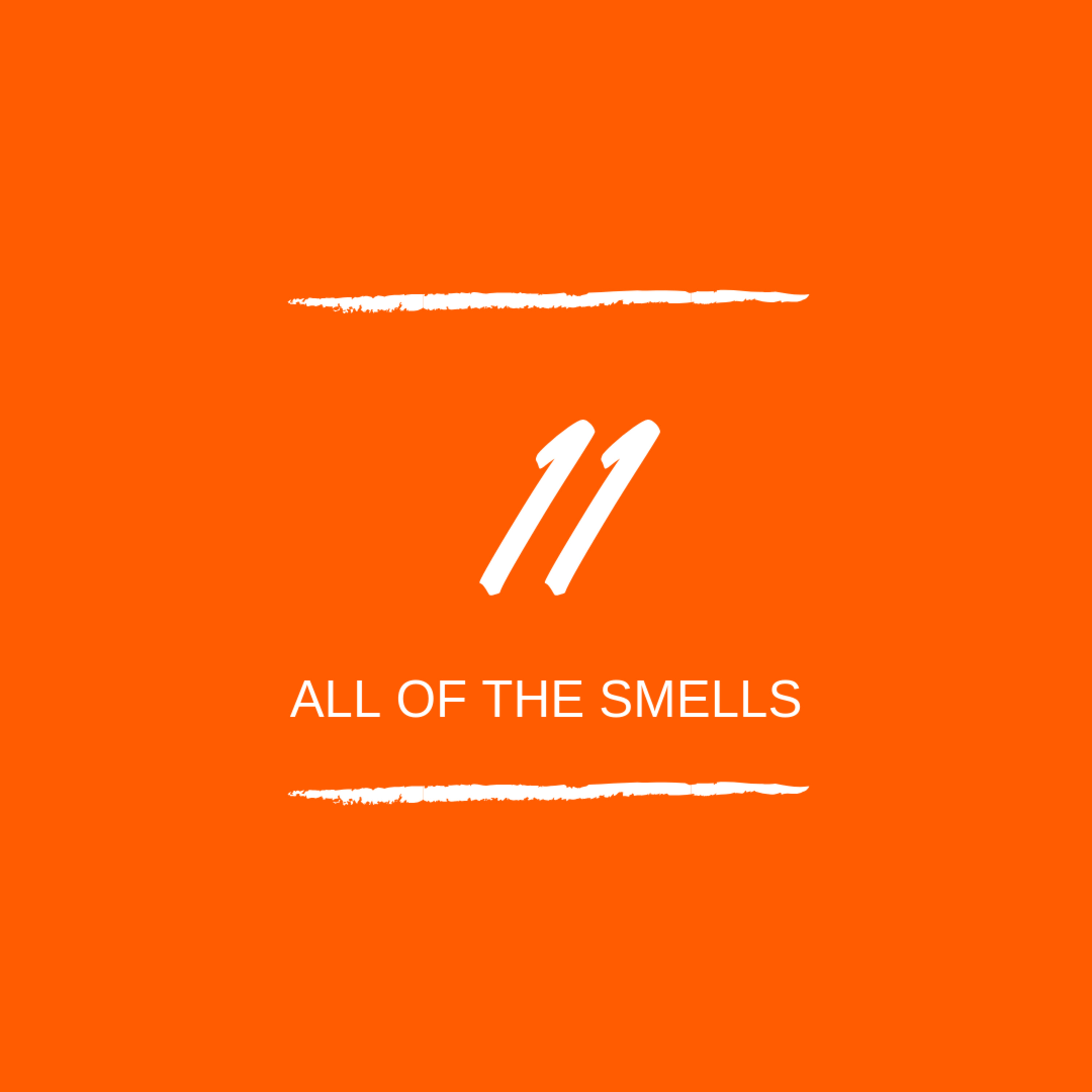 Day 11 : 👃🏼 All of the smells...