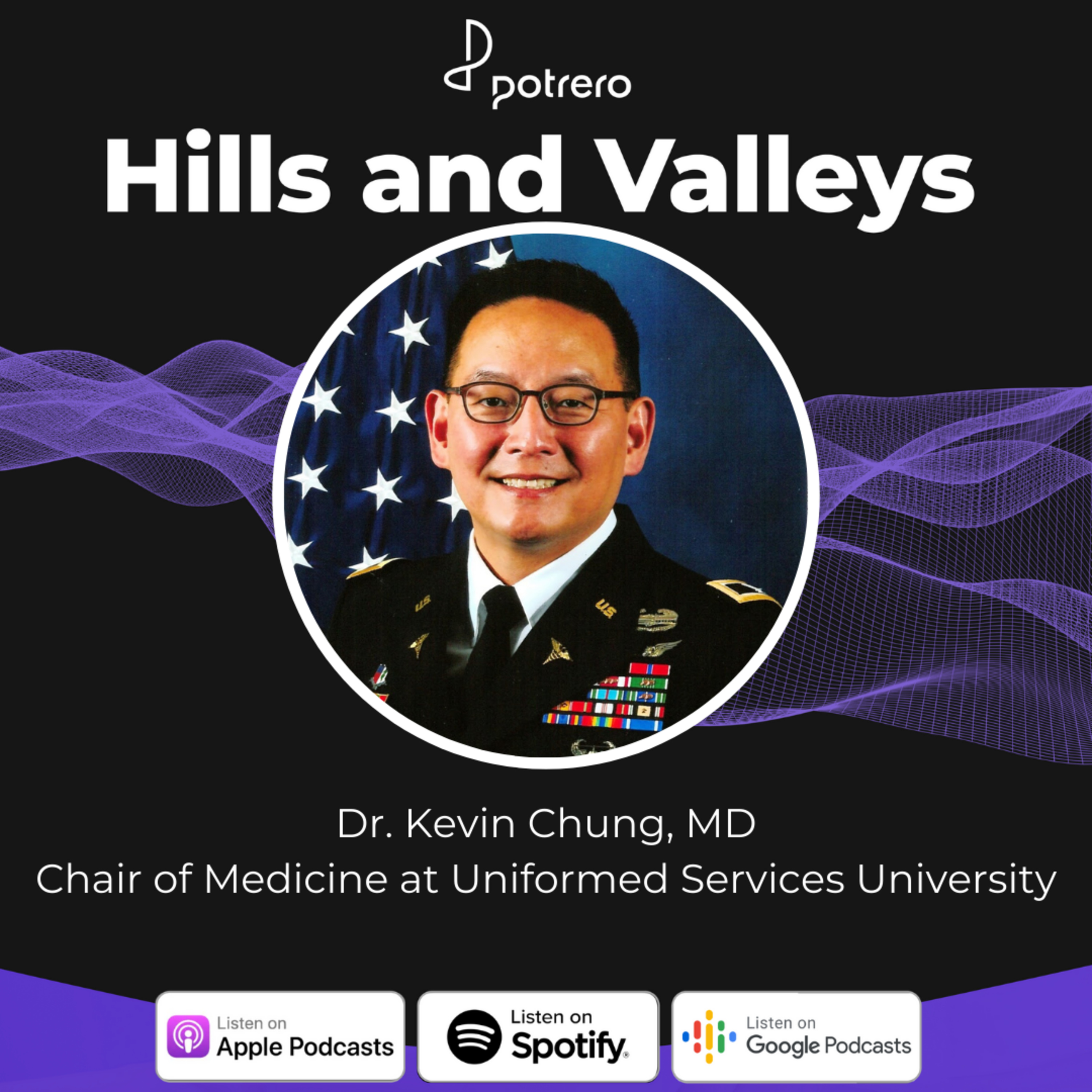 Ep25: COVID-19 Updates with Dr. Kevin Chung, Chief of Medicine at the United States Military