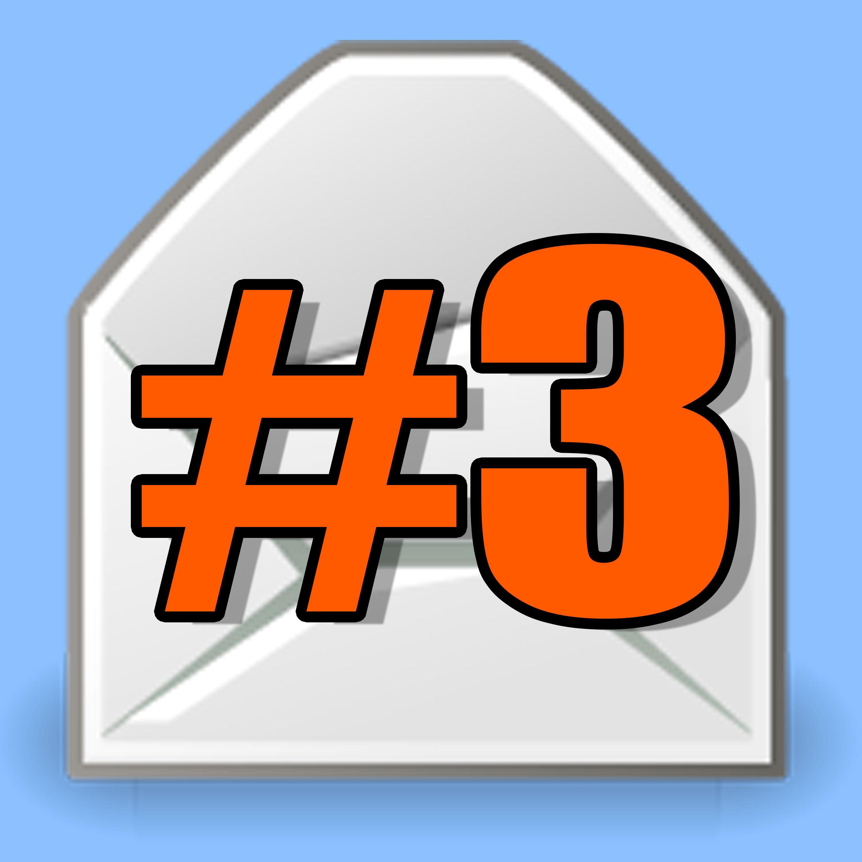 Leitura de E-mails #03 - Do nada!