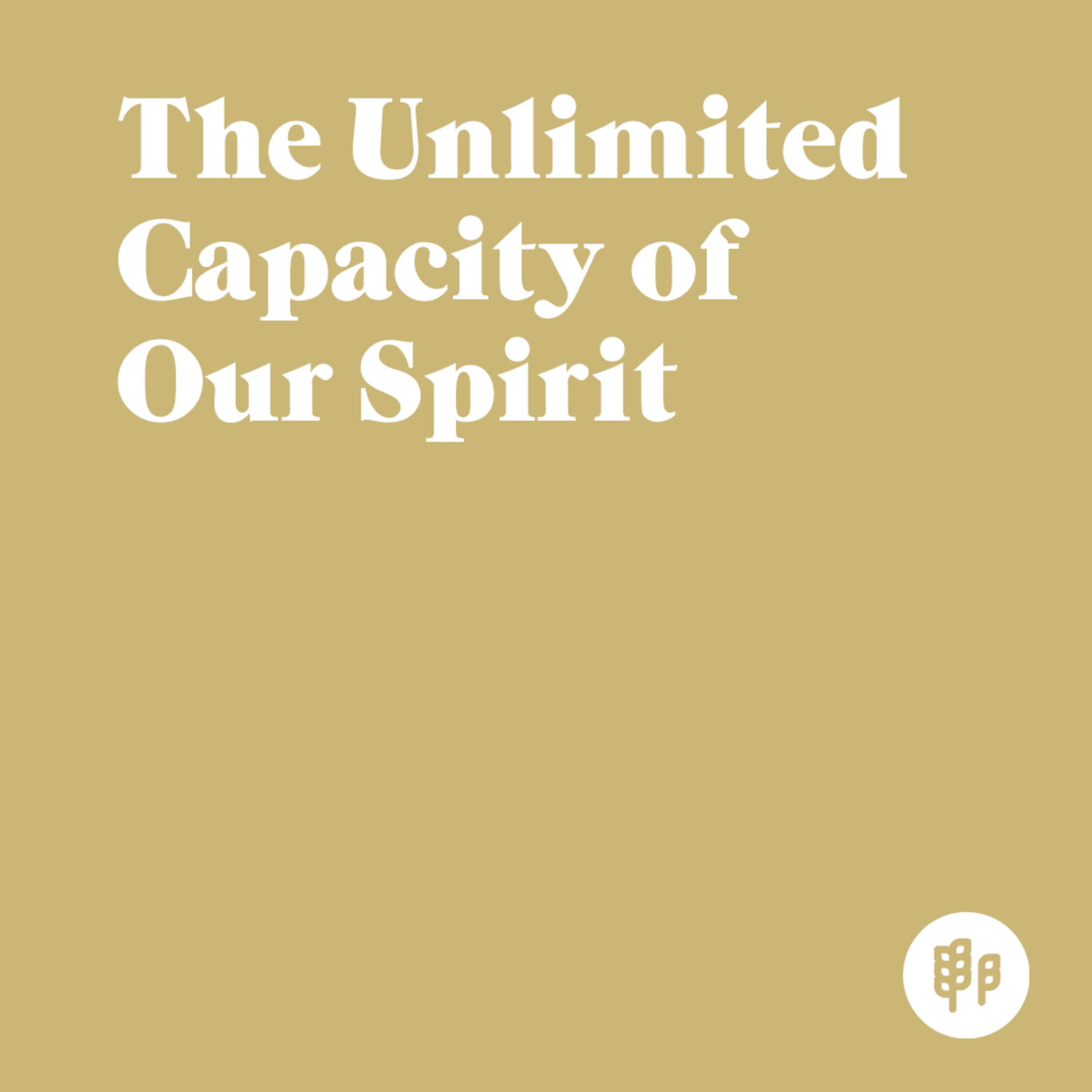 The Unlimited Capacity of Our Spirit (M.R.)