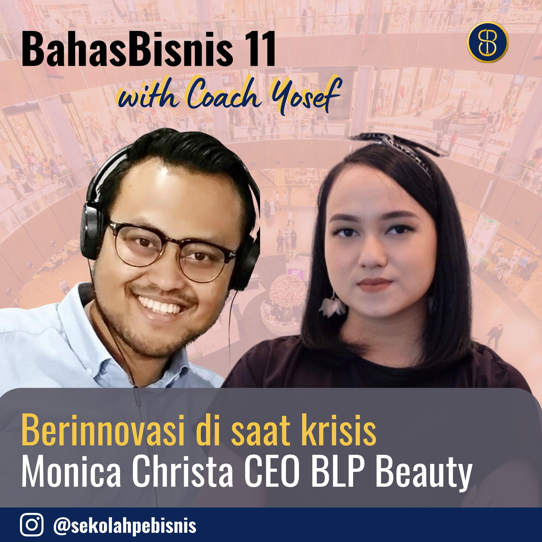 #BahasBisnis [Ep11]: Berinnovasi di saat krisis dari CEO By Lizzie Parra dalam menanggapi krisis kesehatan yang berimbas pada bisnisnya!