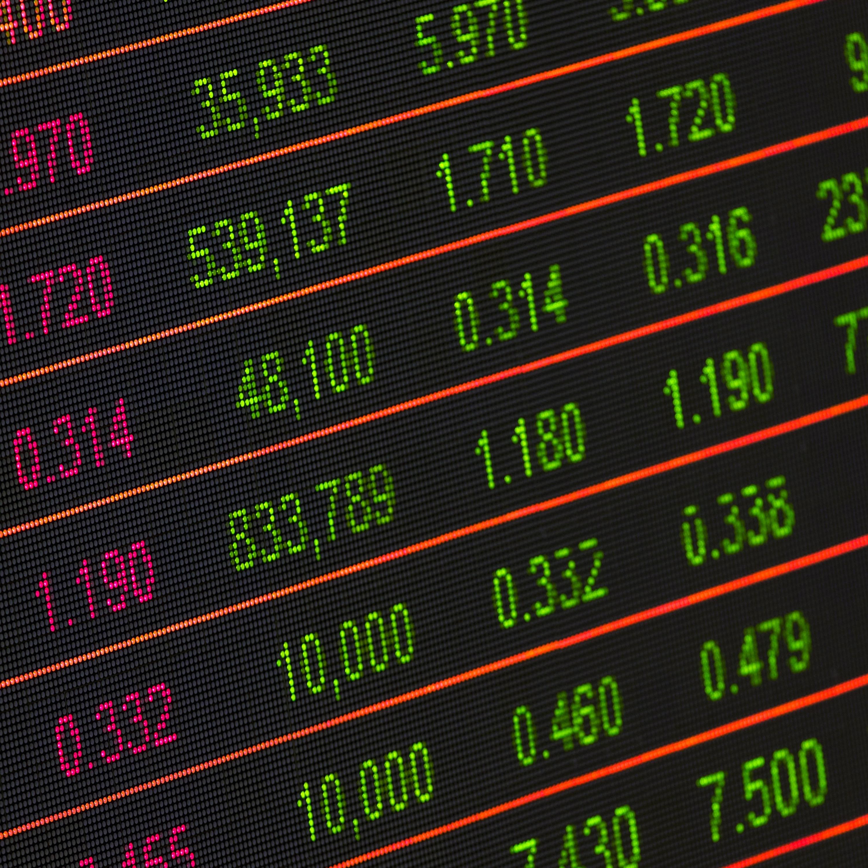 Bolsa de Valores operando em queda de 1,61% nesta quarta-feira (04)