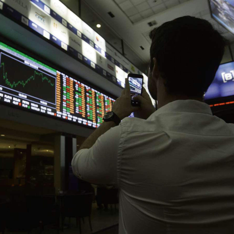 Bolsa de Valores operando nesta segunda-feira (06) em alta de 0,34%