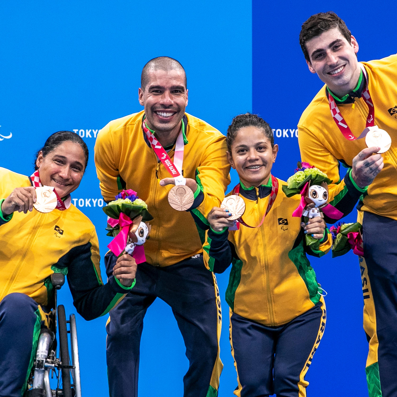 Paralimpíadas: Brasil dá um salto no quadro de medalhas; capixaba é bronze