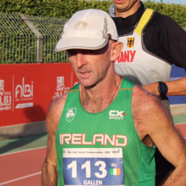 24hr Racing - Eddie Gallen, Irish International Ultra Runner