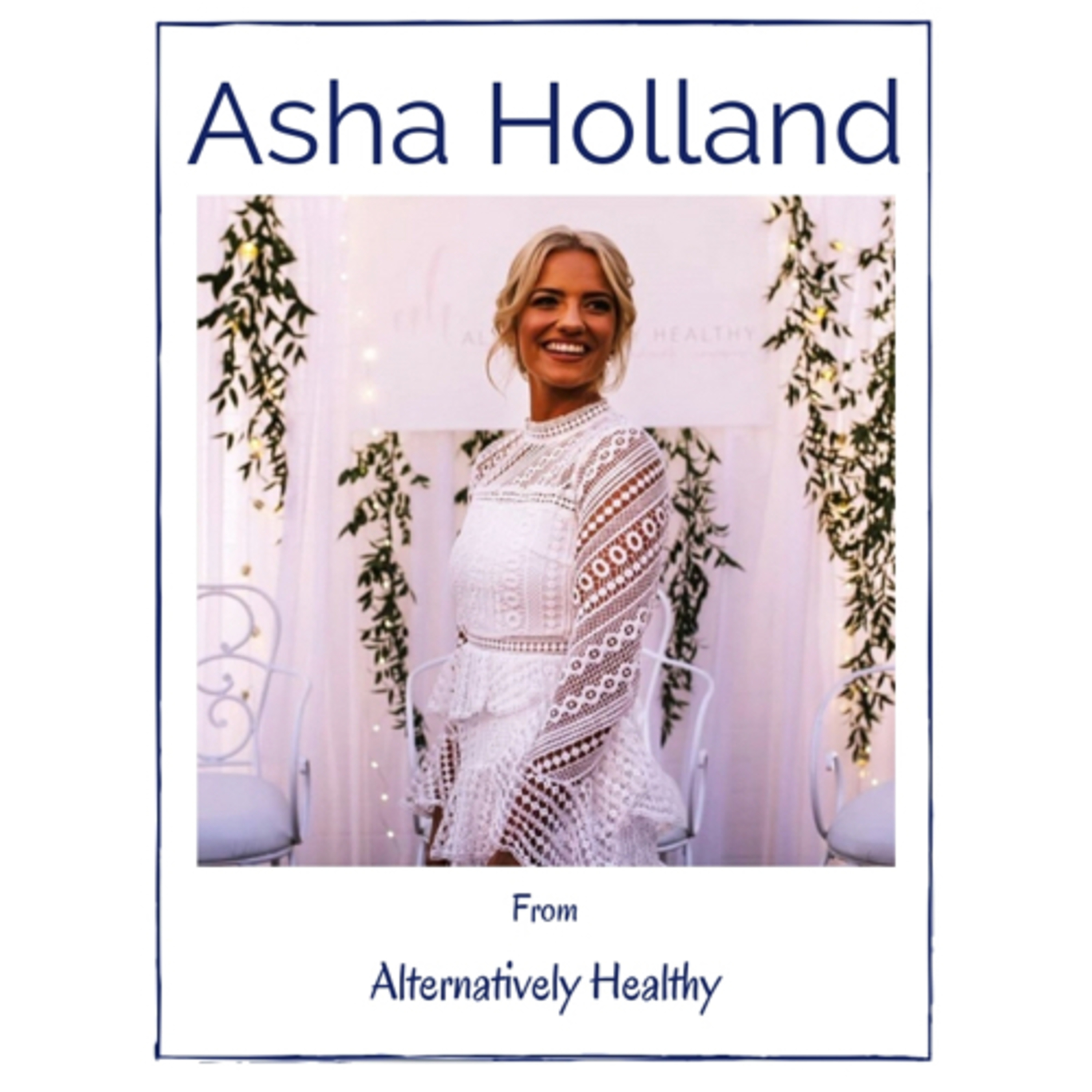 Beyond a Body with Asha Holland