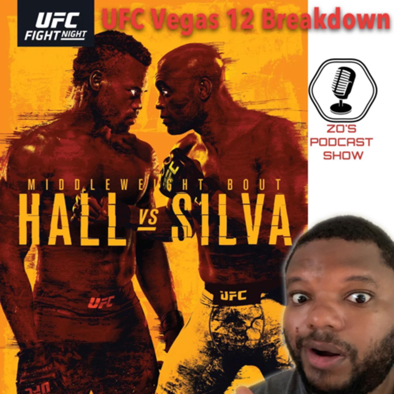 #UFCVegas12 Breakdown and Picks