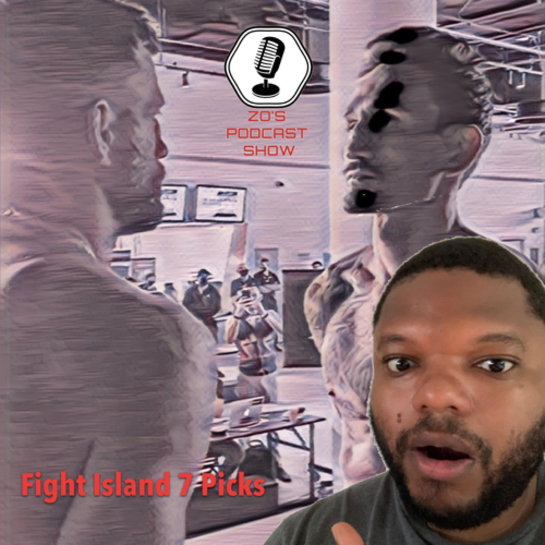 #UFCFightIsland7 Picks