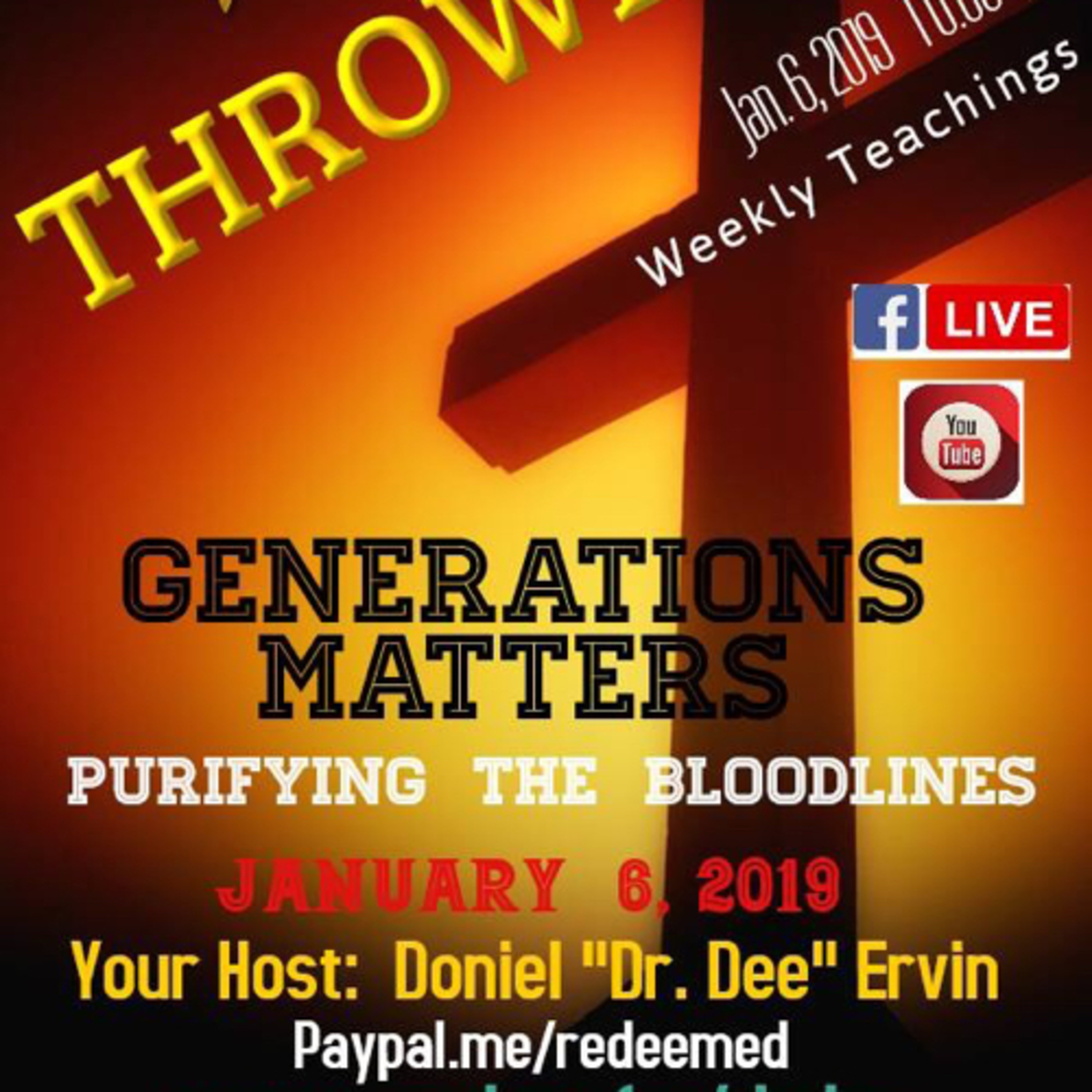 The Real-Generation Matters PurifyingBloodlines:Deliverance