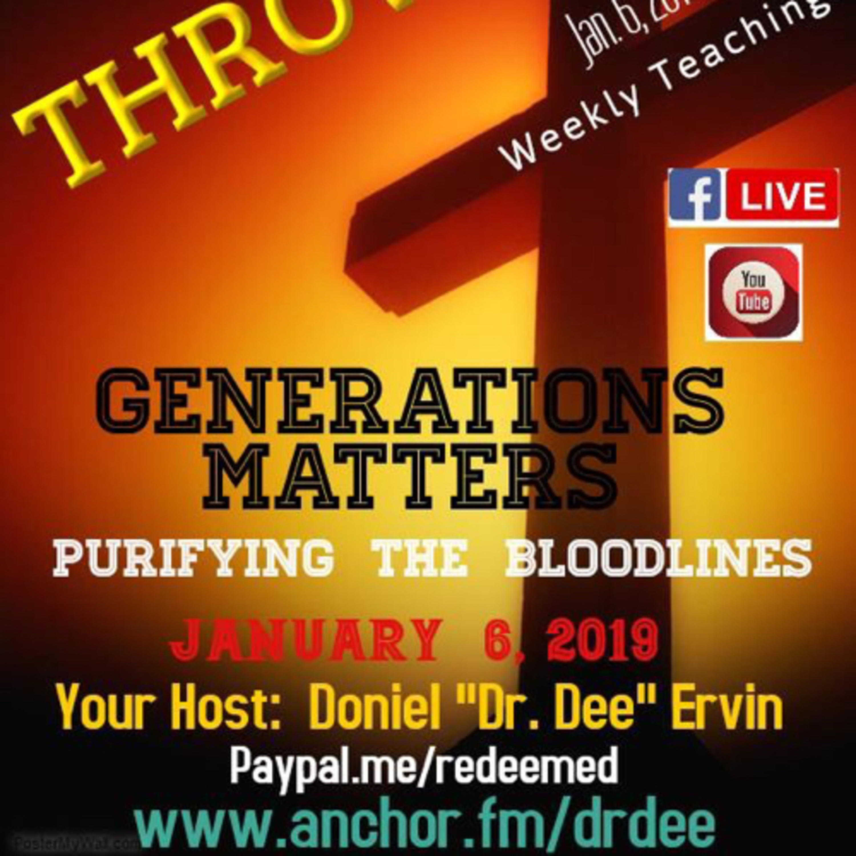 TheReal GenerationMatters: PurifyingtheBloodlines:Fear