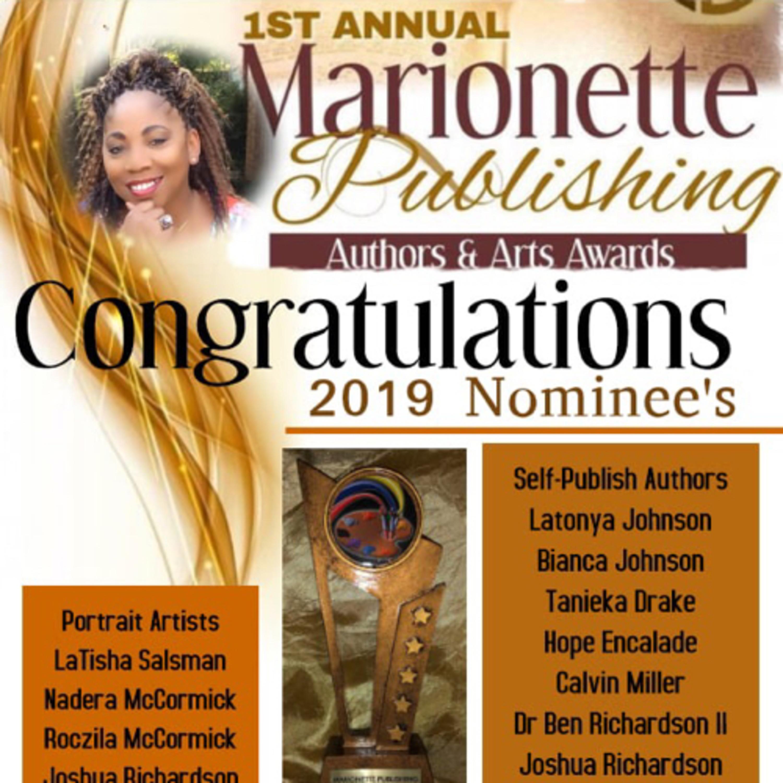 1st Annual Marionette Publishing Authors&Arts Awards
