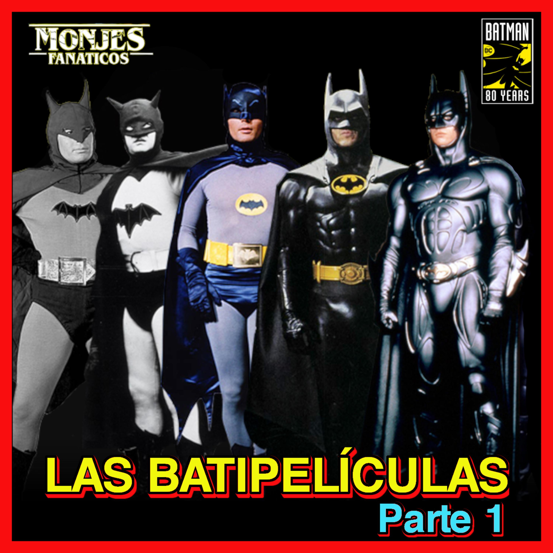 128. Todas las Películas de Batman 🦇 en orden cronológico + CURIOSIDADES | 1ª parte.