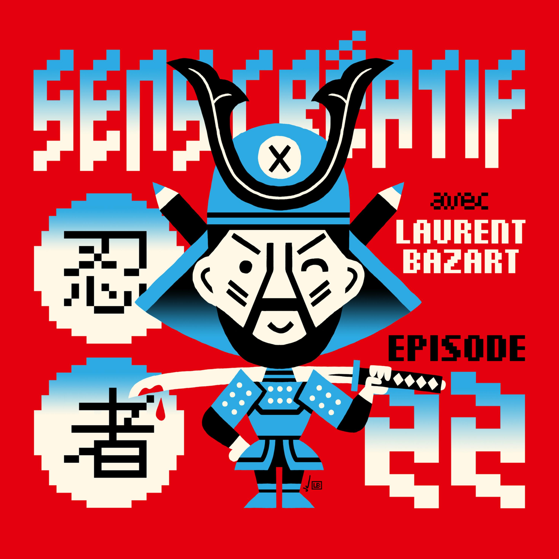 (#22) LAURENT BAZART, illustrateur, pixel artiste | Débrief du NINJA PROJECT