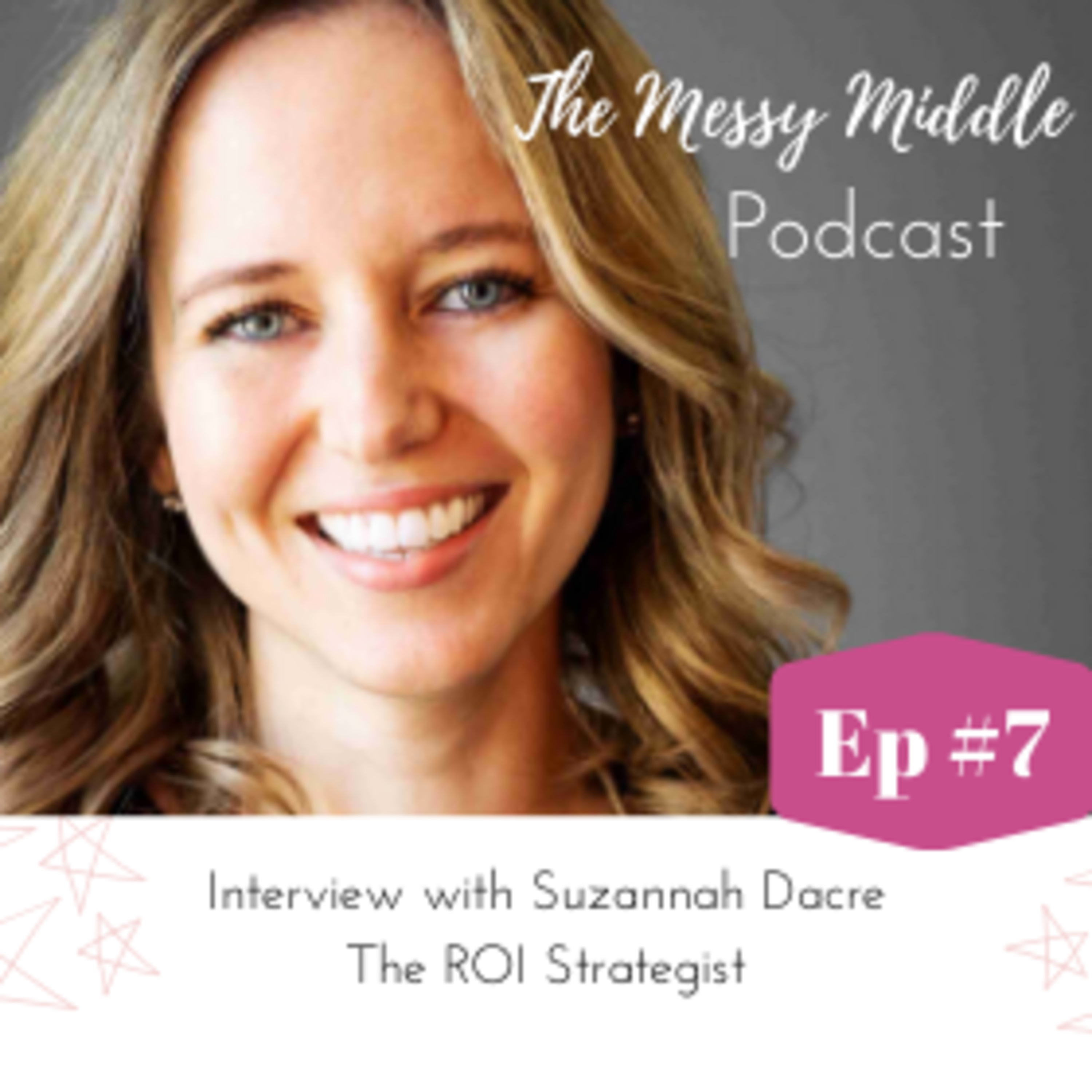 #7 Interview with Suzannah Dacre - The ROI Strategist