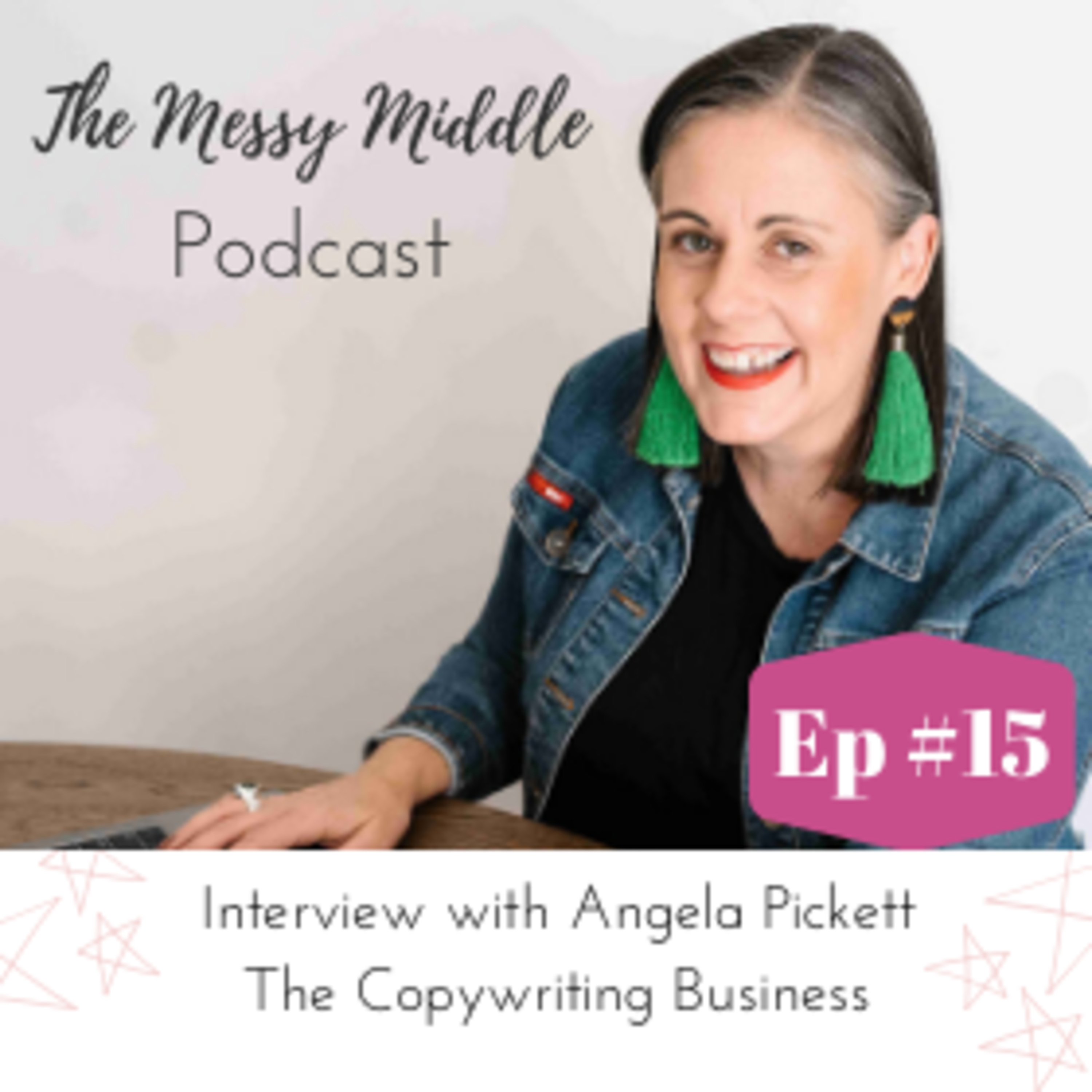 #15 Interview with Angela Pickett - The Copywriting Business
